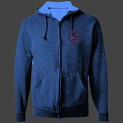 Sweetwater - 993B Jerzees Youth 8oz. NuBlend® 50/50 Full-Zip Hood