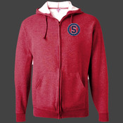 Sweetwater - 993 Jerzees Adult 8oz. NuBlend® 50/50 Full-Zip Hood