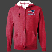 Patriots - 993 Jerzees Adult 8oz. NuBlend® 50/50 Full-Zip Hood