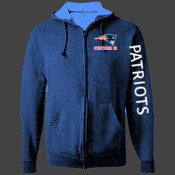 Sweetwater Patriots - 993 Jerzees Adult 8oz. NuBlend® 50/50 Full-Zip Hood