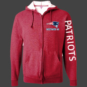 Sweetwater Patriots - 993B Jerzees Youth 8oz. NuBlend® 50/50 Full-Zip Hood