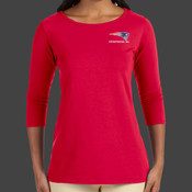 Patriots - DP192W Devon & Jones Perfect Fit™ Ladies' Ballet Bracelet-Length Knit Top